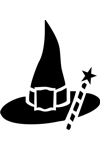 H3107 Witch Hat