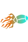CLR Flameball6-football